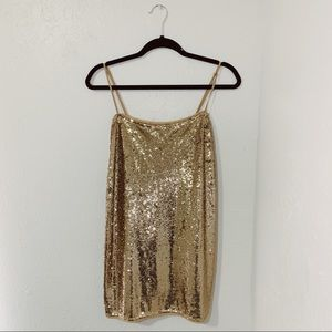 Free People Intimately Sequin Dress